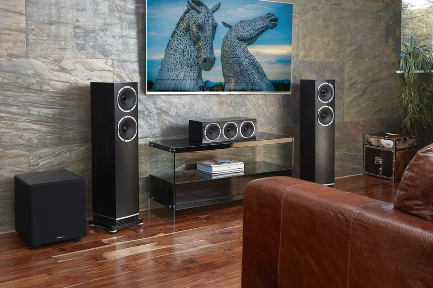 F501_F3-Lifestyle-HomeTheatre-BlackOak-GrilleOff.jpg